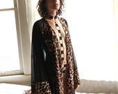 Lingerie - kimono robe - kimono - robe - see through lingerie - sheer lingerie - sheer dress - womens clothing - recherche clothing - robes