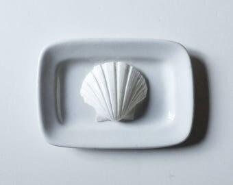 Ironstone soap dish, English antique soap dish, antique ironstone, Grindley  pin dish, small side dish