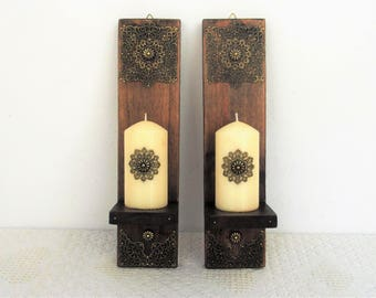Moroccan wall sconce Etsy
