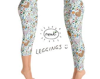 Llama Leggings Ladies, Llama Leggings for Women, Llama Women, Llama Clothes Women, Llama Leggings, Llama Fashion, Llama Yoga Pants