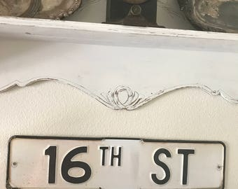 "Vintage Street Sign - '16th  ST.' - 24"" x 6 - Authentic Original Street Sign - Vintage Transportation Sign / Old Street Sign"