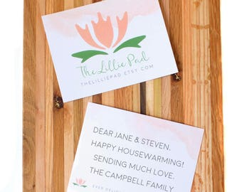 Add a Personalized Notecard to an Order
