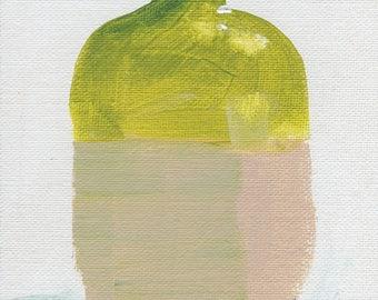 Abstract Art Print, Minimalist Art, Watercolor Print, Vase, Still Art, Modern Art Print, Contemporary Art Print, Square Art