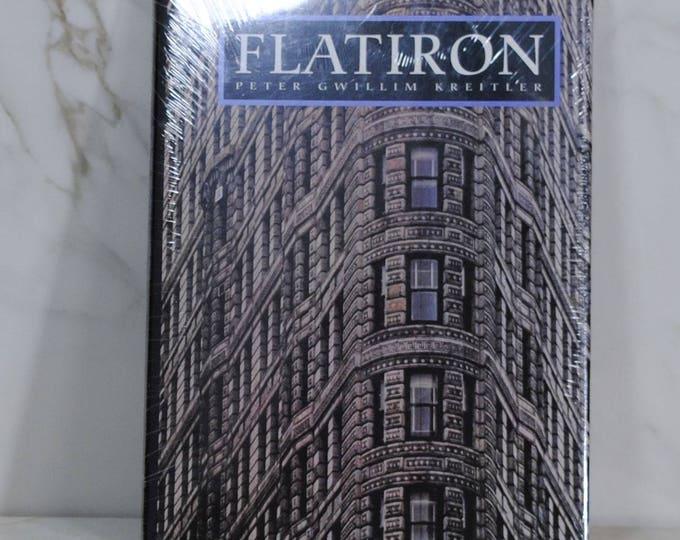 Vintage Book, Flatiron, New York City, Broadway, Fifth Avenue, 23rd Street, Photographic History, World's First Steel Frame Skyscraper