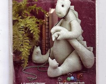 Dawn A Peaceful Dinosaur / Original Gooseberry Hill Uncut Sewing Pattern 198