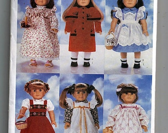 "18"" (45.5cm) Doll Clothes / Original Butterick Uncut Sewing Pattern 4699"