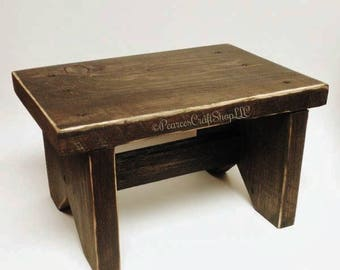 Primitive Bench - Made To Order, Wood Benches, Table Risers, Country Farmhouse Decor