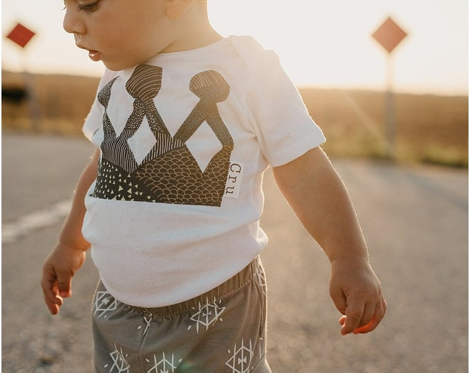 """Swanky Shank """"The Child King"""" Short Sleeved Bodysuit or Tee; Personalized with Name"""
