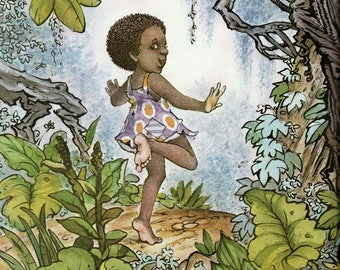 Liza Lou and the Yeller Belly Swamp, Mercer Mayer, african american, childrens book, feminist picture book, girl power, retro southern girl