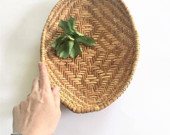 The PERFECT Woven Oval Basket