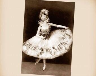 Russian Ballerina Anna Pavlova New 4x6 Vintage Image Photo Print AP08