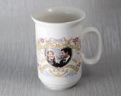 1986 Prince Andrew and Sarah Ferguson Marriage Mug Commemorative Ceramic China Mug