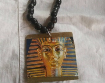 King tut long necklace