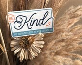 Be Kind | Vinyl Sticker Design