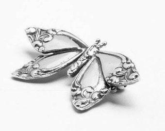 """Spoon Brooch: """"Butterfly"""" by Silver Spoon Jewelry"""