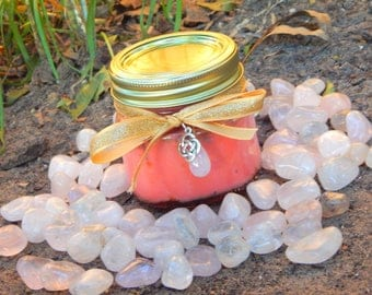 GODDESS SELECTION Ritual Jar Candle, Prayer candle - 100% Hand-crafted with soy wax, herbs and essential oils
