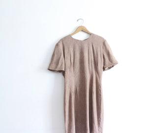 Maroon Polka Dot 90s Mini Dress