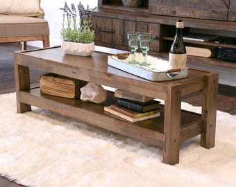 Rustic Gray Beach House Coffee Table Reclaimed Wood - Barn house coffee table