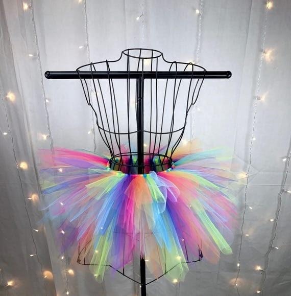 Freya Tutu - Neon Rainbow Spike Tutu