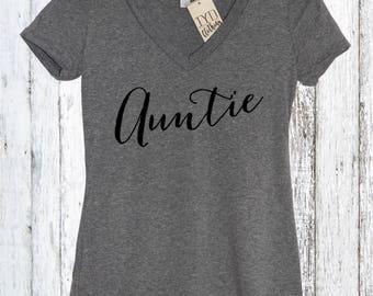 Auntie shirt, Aunt shirt, Proud Aunt, New Aunt, Auntie