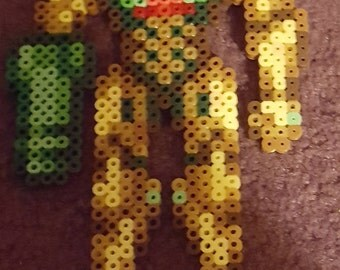 Power Suit Samus perler sprite