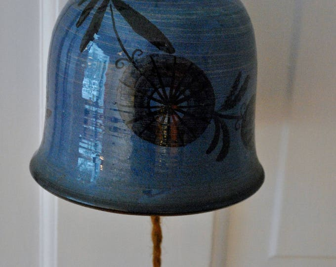 Danish Modern Forum Ceramic Bell / Wind Chime Mid Century Modern