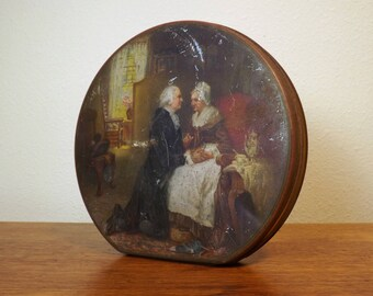 George Washington Candy Tin ~ Park & Tilford ~ Early 1900s ~ Tindeco ~ 1 lb. Candy Tin ~ Collectible ~ J. L. G. Ferris