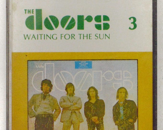 Vintage 70s The Doors Waiting for the Sun Billboard Cassette Tape