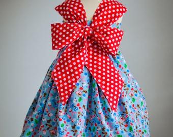 Praline Party Dress PDF Pattern 12m - 14y