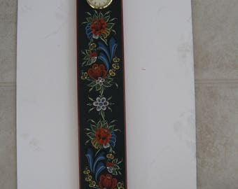 Norwegian Rosemaled clock