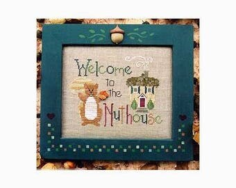 Waxing Moon Designs - Welcome to the Nuthouse - Secondhand