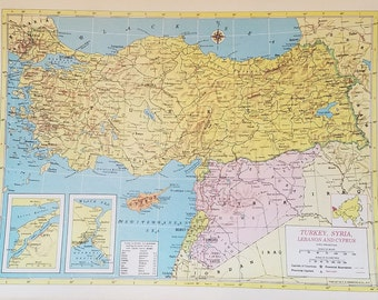 Israel Jordan MapPalestine Map Canaan Jerusalem Egypt Israel - Map of egypt israel jordan syria