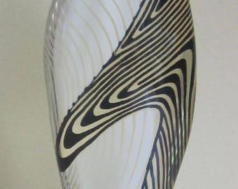 Mid Century Modern Abraham Palatnik Optical Art Lucite Penguin Sculpture Made In Brazil Abstract Art