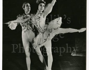 Robert Helpmann & Margot Fonteyn in Sleeping Beauty Act III Photo - Sadler's Wells Ballet Studio