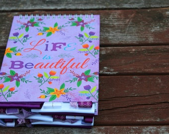 Life is Beautiful Altered Journal
