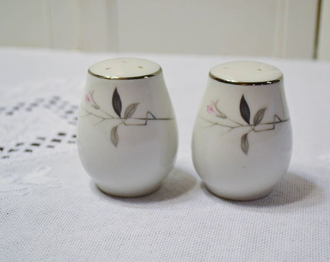 Vintage Cherry Blossom Salt and Pepper Shaker Set Fine China Japan Replacement PanchosPorch