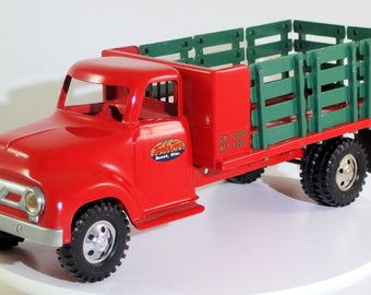 Vintage Tonka 1956 Stake Truck - Restored