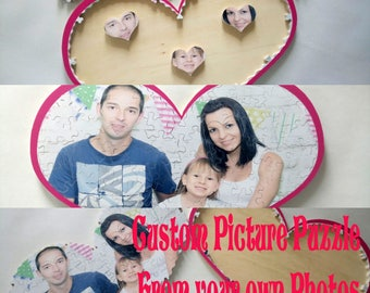 PHOTO PUZZLE Personalized puzzle Custom puzzle Picture Puzzle Photo Gift Custom Photo Puzzle Personalized Gift Anniversary Gift Birthday