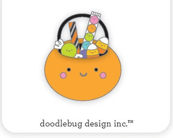 Trick or treats Collectible pin/ Doodlebug Collection/Halloween collectible pin/ Collectible pin Limited Edition
