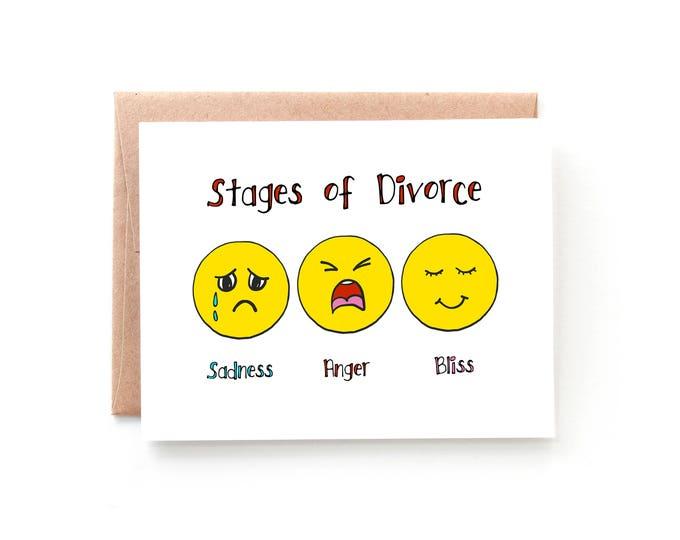 Stages of Divorce