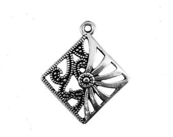 X 2 Tibetan silver Triangle