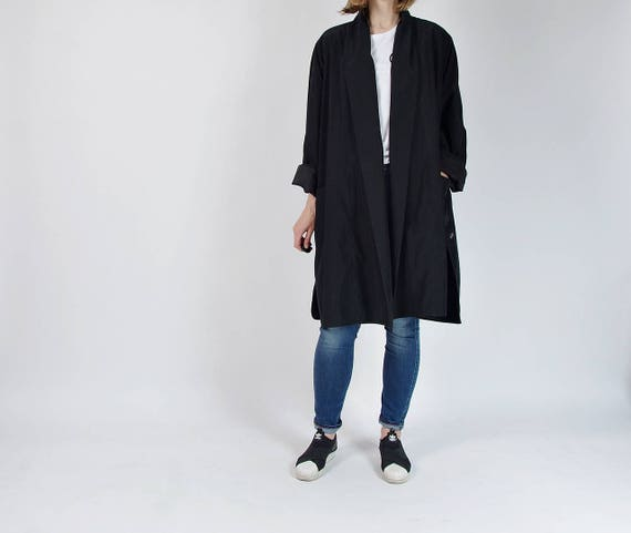 SALE - 90s Classic minimalist modern look oversized jacket / size m-xl