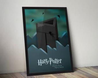 Harry Potter and The Prisoner of Azkaban J.K. Rowling Book Movie Poster Print