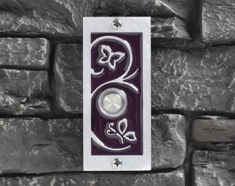 Modern Doorbells and House Numbers by ModishMetalArt on Etsy