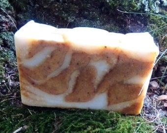 Natural Handmade Brown Sugar & Pumpkin Soap, Vegan