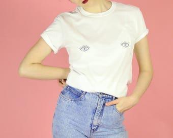 Eye Nips T-shirt - White