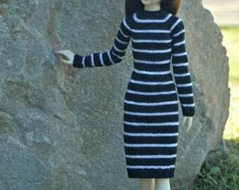BJD MSD 1:4 Handknitted dress