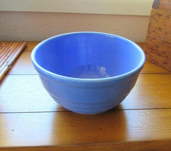 #8 Inch Blue Kitchen Mixing Bowl
