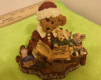 Boyds Bears Bearstone Collection, Alexis Bearinsky - The Night Before Christmas, 1998