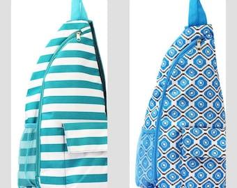 Monogrammed Kavu-type Backpacks